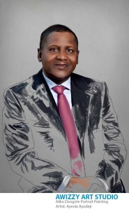 aliko dangote painting 5