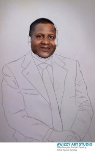 aliko dangote painting stage 3